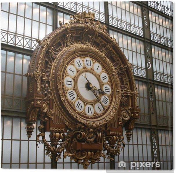 Obraz na płótnie Zegar Orsay - Budynki użyteczności publicznej