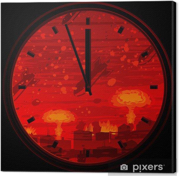 Obraz na płótnie Zegar Zagłady pokazuje 3 minuty do północy - Tematy