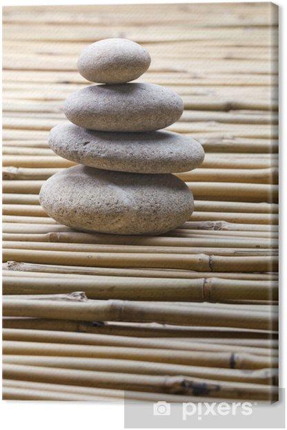Obraz na płótnie Zen duch na bambus słomy - Znaki i symbole