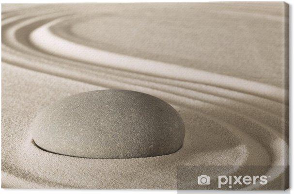 Obraz na płótnie Zen harmonii i równowagi - Inne pejzaże
