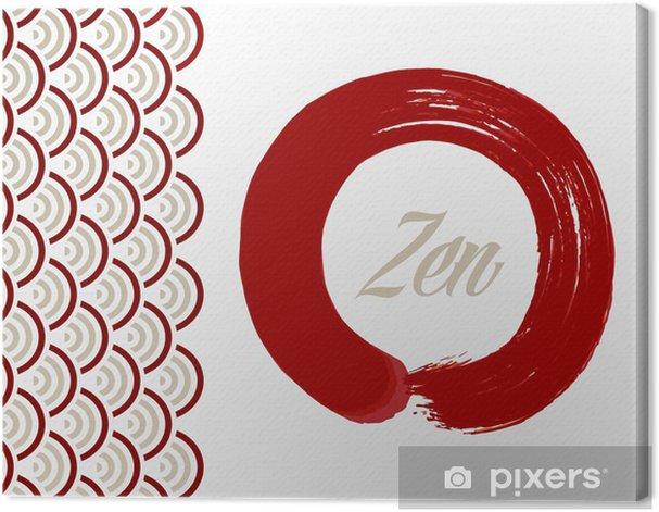 Obraz na płótnie Zen tle koła - Znaki i symbole