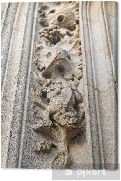 Obraz na płótnie Zewnętrzny wystrój ul. michael katedra w Brukseli - Moda
