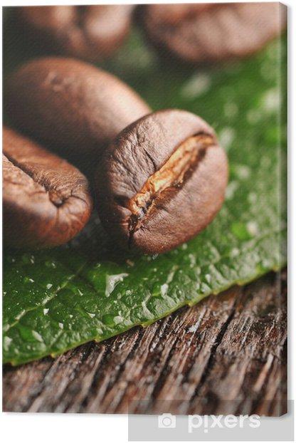 Obraz na płótnie Ziarna kawy - Tematy