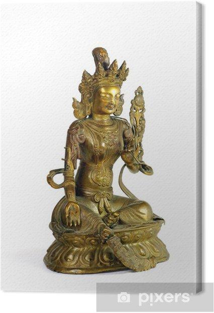 Obraz na płótnie Zielona Tara - Religie