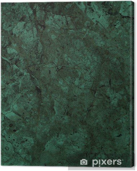 Obraz na płótnie Zielone tło marmur tekstury (wysoka rozdzielczość) - Tekstury