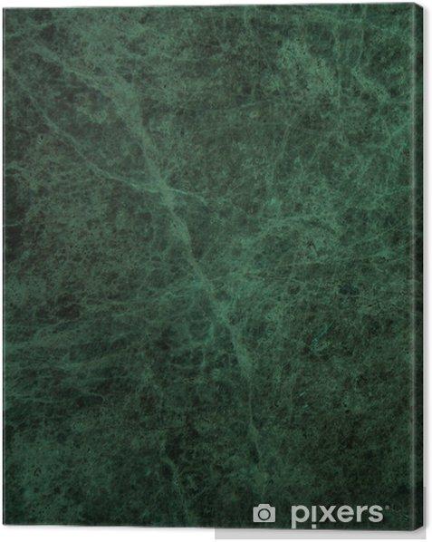 Obraz na płótnie Zielone tło tekstury marmuru - Tekstury