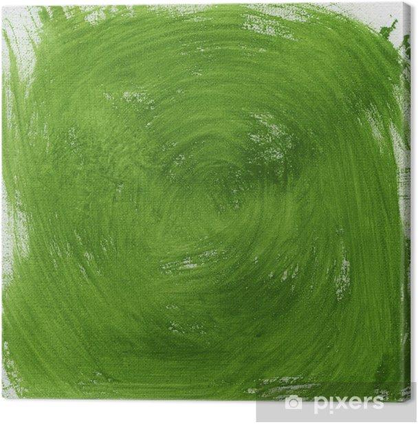 Obraz na płótnie Zielony wir abstrakcyjne - Sztuka i twórczość