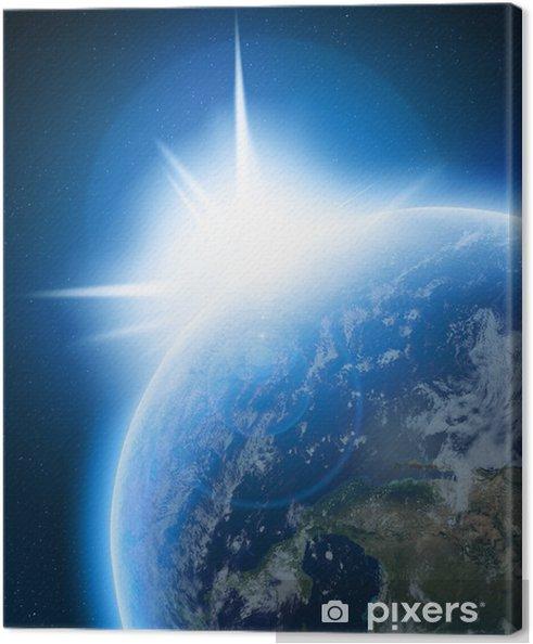 Obraz na płótnie Ziemia - Tła