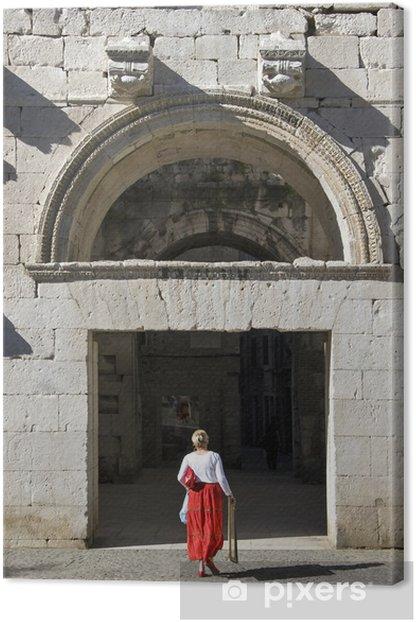 Obraz na płótnie Złota brama pałacu Dioklecjana, Split Chorwacja - Europa