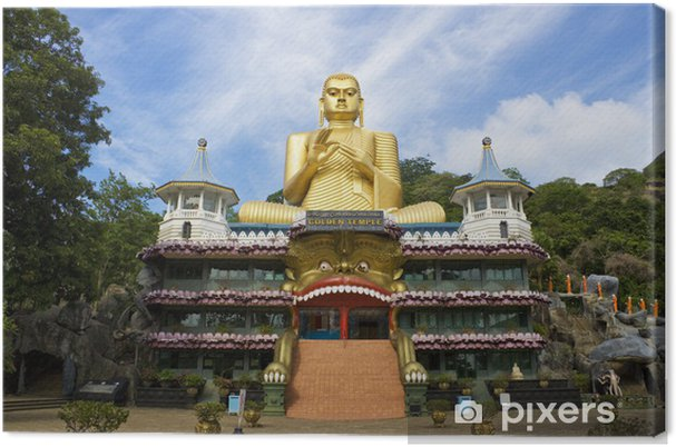 Obraz na płótnie Złota Świątynia, Dambulla, Sri Lanka - Azja