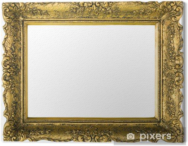 Obraz na płótnie Złote ramki obrazu Wycinanka - Dom i ogród
