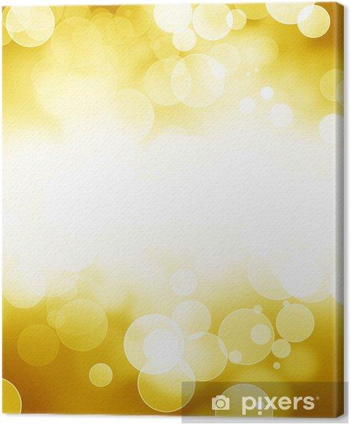 Obraz na płótnie Złoty błyszczy - Tła