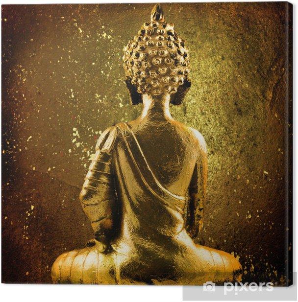 Obraz na płótnie Złoty Budda - Religia i duchowość