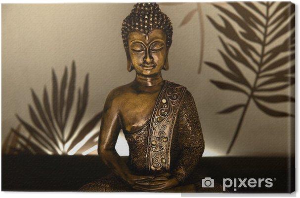 Obraz na płótnie Złoty Budda - Tematy