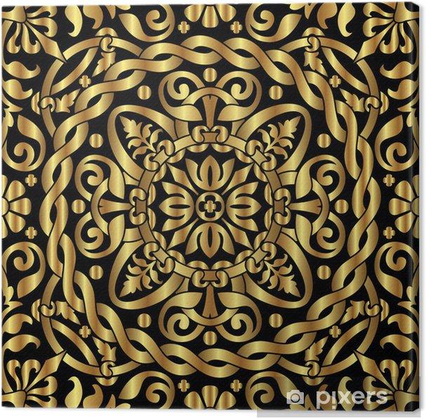 Obraz na płótnie Złoty ornament asian - Azja