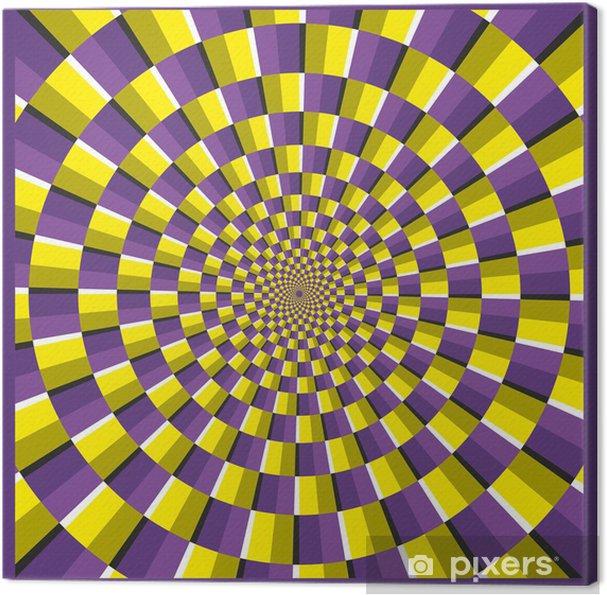 Obraz na płótnie Złudzenie optyczne ramki elipsa - Tematy