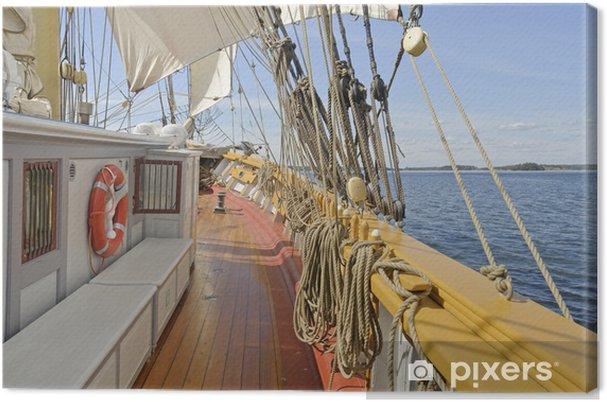 Obraz na płótnie Zobacz Brig żeglarstwa w archipelagu sztokholmskim - Tematy