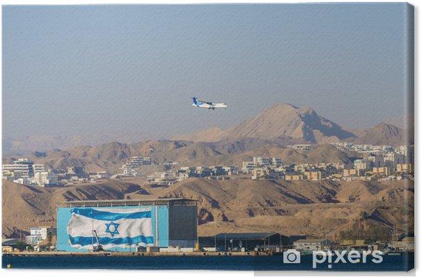 Obraz na płótnie Zobacz na Eilat i Morze Czerwone od plaży Northen - Bliski Wschód