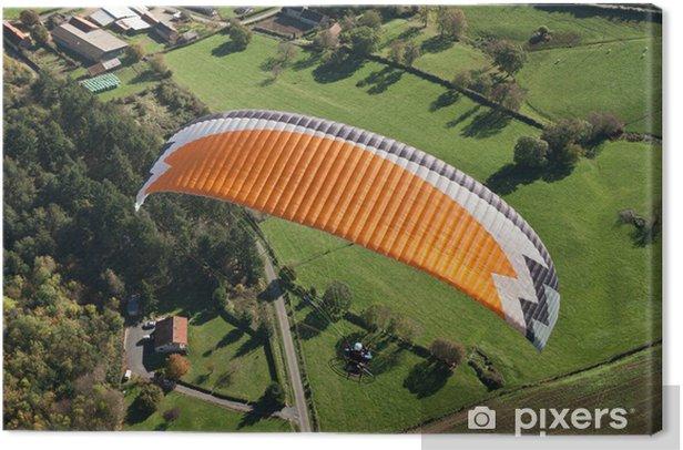 Obraz na płótnie Zobacz paramotor nieba Puy de Dome - Sporty ekstremalne