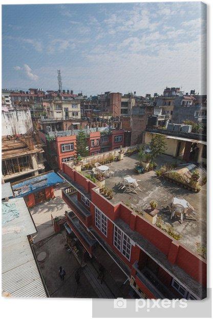 Obraz na płótnie Zobacz w Katmandu miasta ze wzgórza - Azja