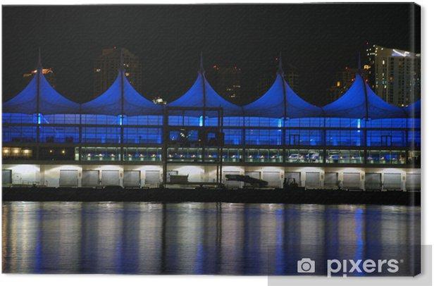Obraz na płótnie Zobacz wolnych Cruise Terminal statków Miami w nocy. - Infrastruktura