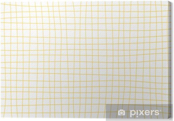 Obraz na płótnie Żółta musztarda siatki białe tło minimalne ilustracji wektorowych - Zasoby graficzne