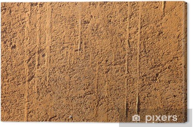 Obraz na płótnie Żółte ściany Mud - Tła