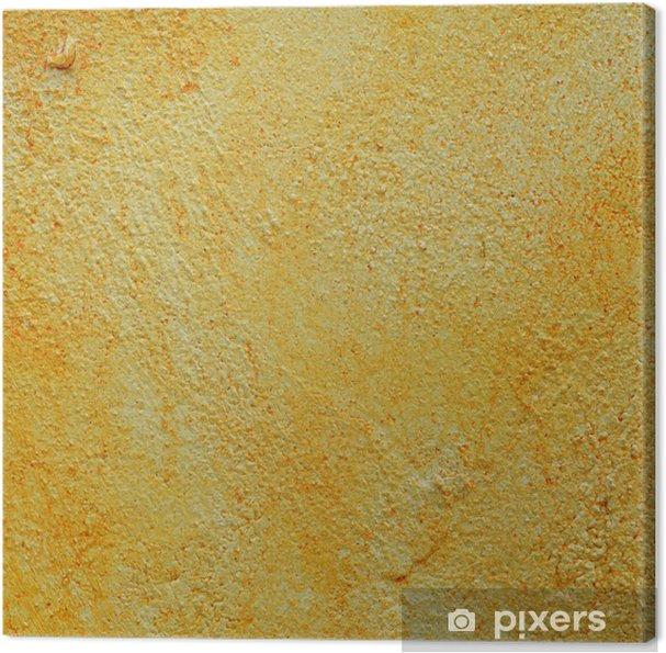 Obraz na płótnie Żółty cementu ściany teksturę tła - Przemysł ciężki