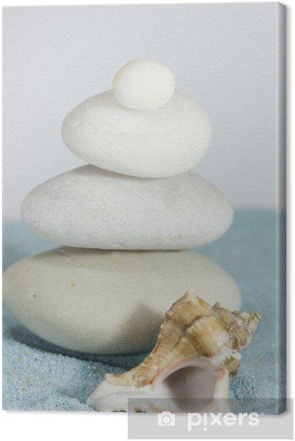 Obraz na płótnie Żwir i piasek blue - Uroda i pielęgnacja ciała