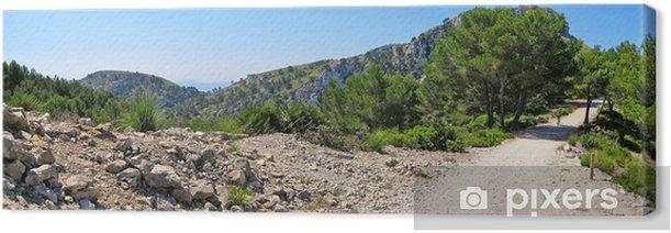 Obraz na płótnie Żwir panorama ścieżka - Europa