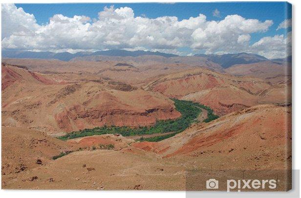Obraz na płótnie Życie na pustyni - Krajobraz wiejski