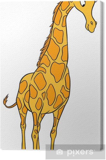 Obraz na płótnie Żyrafa - Ssaki