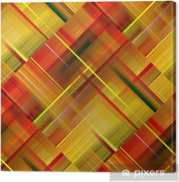 Obraz na płótnie Żywe ciepłe kolory abstrakcyjne tło wzór. - Tła