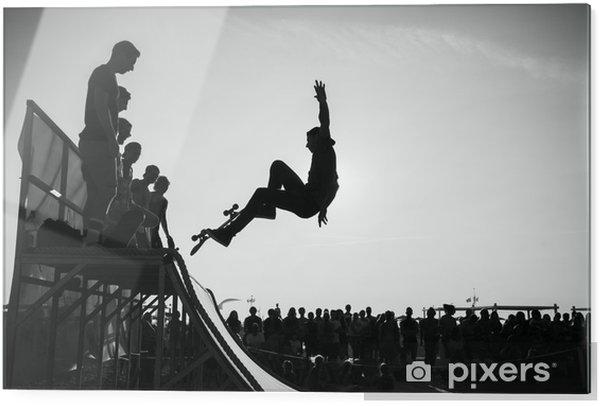 Obraz na szkle Skok - Skateboarding