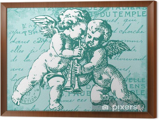 Obraz na płótnie w ramie Blue Angels - Tematy