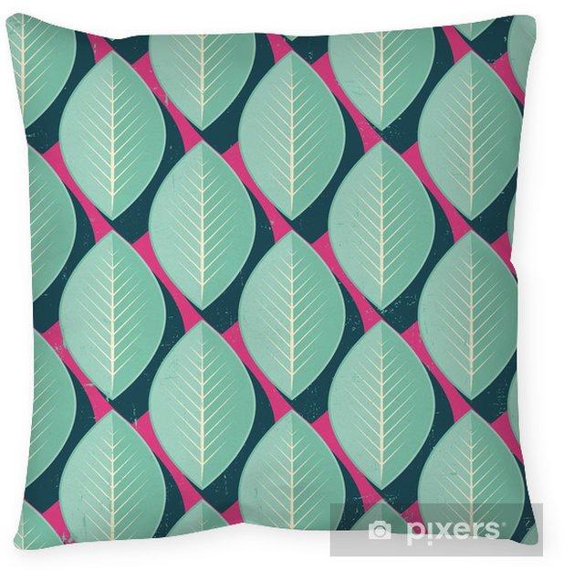 Örngott Vector Färgrik abstrakt retro seamless geometriska mönster - Blommor och växter