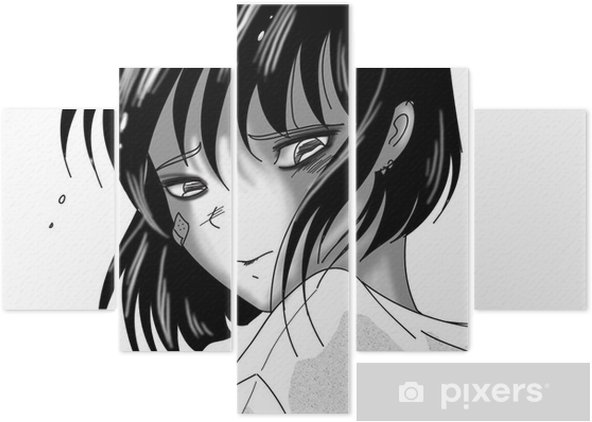 Pentaptyque Triste Manga Fille