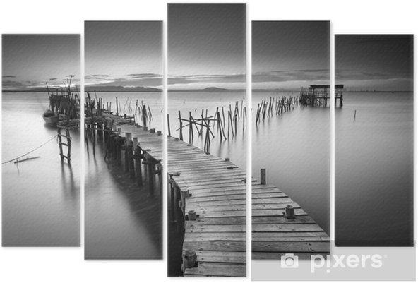 En fredelig gammel havn Pentatykon - Landskaber