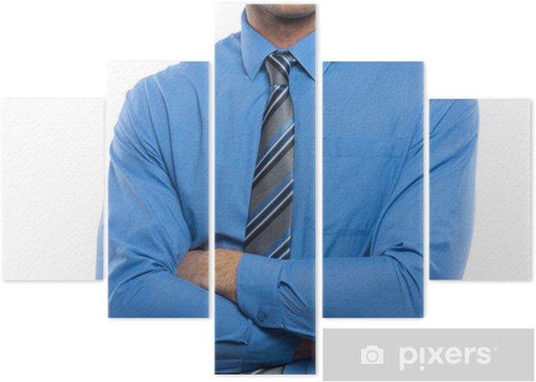 design di qualità e990c bfd23 Pentittico Handsome giovane uomo in camicia blu e cravatta