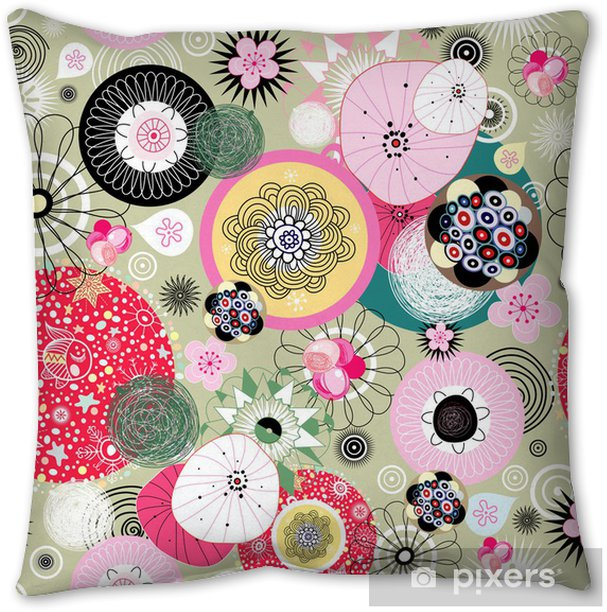 abstract pattern Pillow Cover - Styles