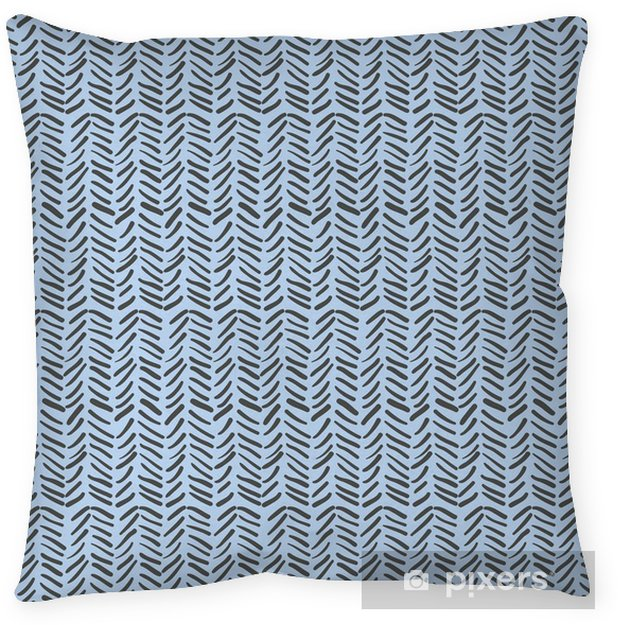 Abstract zig zag background. Pillow Cover - Graphic Resources