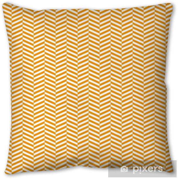 chevron pattern background Pillow Cover - Art and Creation