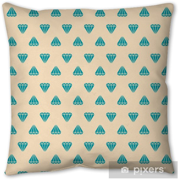 diamond pattern Pillow Cover - Graphic Resources