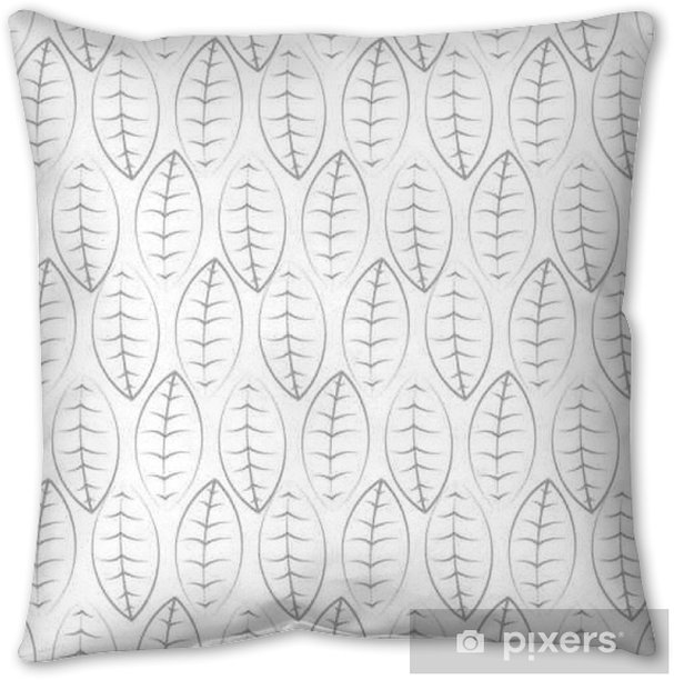 Foliage vector seamless pattern. Pillow Cover - Graphic Resources