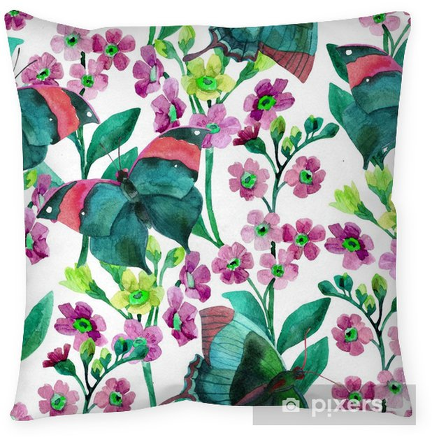Forget-me-not Flowers Pillow Cover - Plants and Flowers
