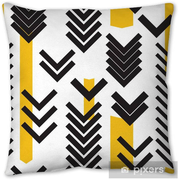 geometry seamless pattern Pillow Cover - Graphic Resources