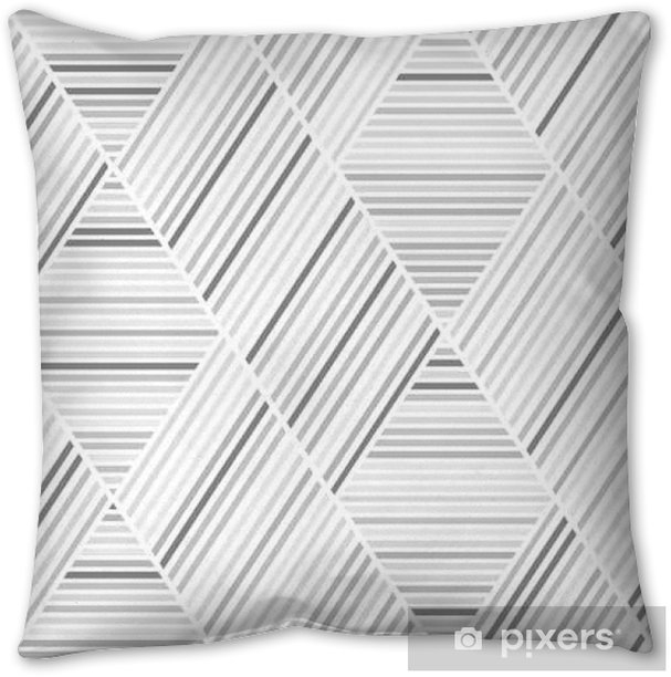 Grey and Brown Lines Seamless Pattern Pillow Cover - Graphic Resources