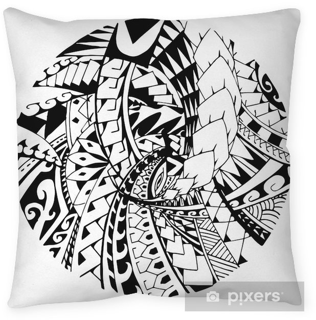 e38e0fe6ccfca Maori pattern Pillow Cover • Pixers® - We live to change
