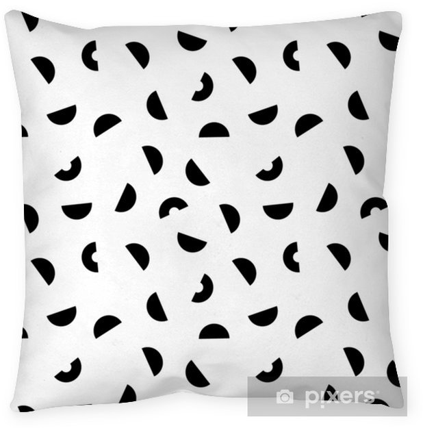 Memphis seamless pattern. Pillow Cover - Graphic Resources
