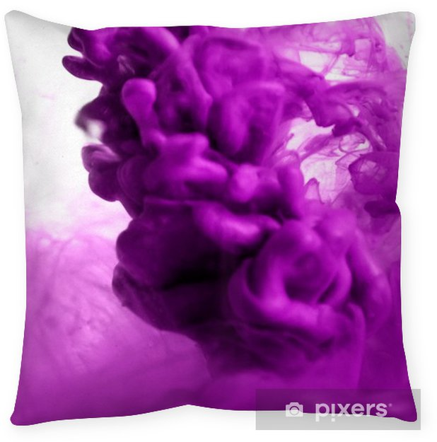 Purple Dye In Water Pillow Cover Pixers 174 We Live To Change